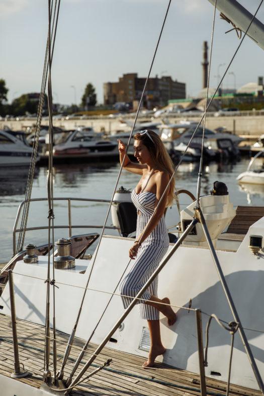 Дима и Марина Яхта